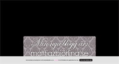 Preview of mattixstylingtheworld.blogg.se
